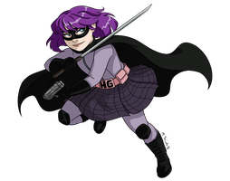 Hit Girl by msciuto