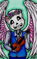 Lily the Skeleton by Smithuoso