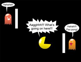 Pacman Funny 7 by Inspectornills