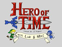 Hero of Time by pookat