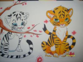 Tigers by shinku2187