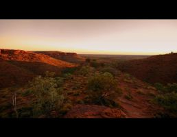 Kings Canyon, Australia by Thrill-Seeker