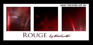 Misc Texture 8 - Rouge by timidwriter