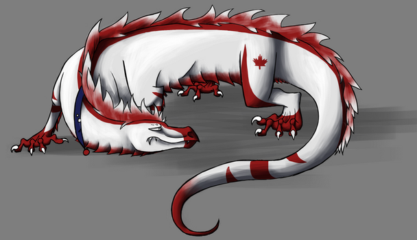 Canadian Dragon 2012 by LiiaDragon7