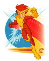 KID FLASH-TRIBUTE TO RINGO pt2 by CHUCKAMOKK