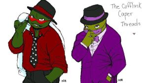 TMNT The Cufflink Caper RD by iceicefangurl