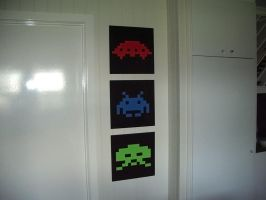 My Space Invaders by gasclown