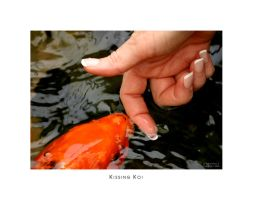 Kissing Koi by scorpiodesign