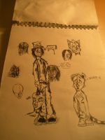 Page of Sketches by I-Rant-Quite-Often