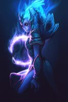 Vengeful Spirit - Poster by MugenMcFugen