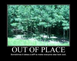 Out Of Place -demotivation- by Dragunov-EX