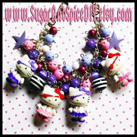Pirate Hello Kitty Bracelet by SugarAndSpiceDIY