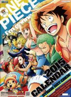One Piece 2015 Calendar Is Coming *__* by Naruke24