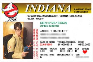 Ghostbusting License by JacobLionheart