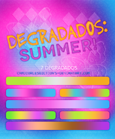 +DEGRADADOS~~ SUMMER! by CAMI-CURLES-EDITIONS