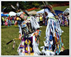 At the Pow Wow by songofabanshee