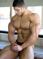 Amazing Bodybuilder by Stonepiler