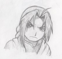Study of Edward Elric by Funistic