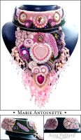 Necklace: Marie Antoinette by annafjellborg