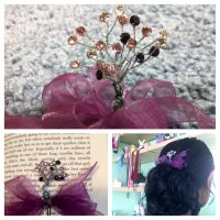 Corsage Hair Pin by loo-loo-beans