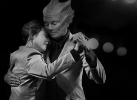 Vastra and Jenny Dancing by Dragoon23