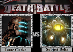 Death Battle - Isaac Clarke vs Subject Delta by MetalReaper
