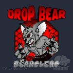 MMA DROP BEAR - SILVER by btnkdrms