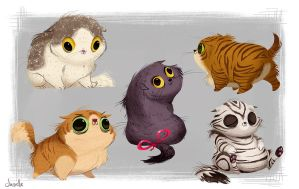 Scottish Folds by doingwell