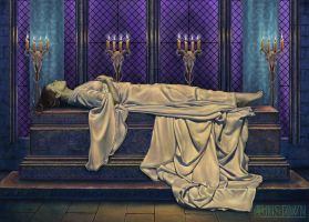 Death of a Queen by Dysis23A