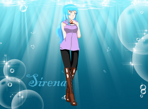 Pokemon OC Sirena by LittleBluebird123