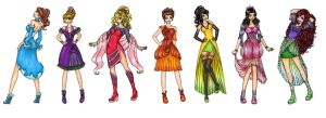 Princesses of Atlantica by AkaAmamura20