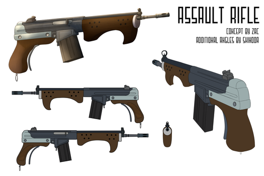 Fallout Equestria: Equestrian Assault Rifle by ThisHomeBoy24
