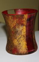 double inlay glass vase by RG-Studios