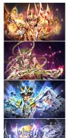 Saint Seiya by biggreenpepper