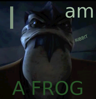 Krell is a frog by Coricle