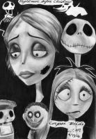 Corpse Bride and N B4 Xmas by carlotta-guidicelli
