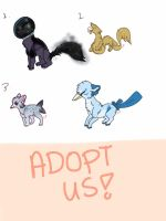 Mutated Dogs //OPEN by Canadii