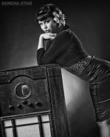Antique Radio by OfficialSerenaStar