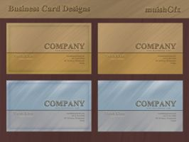 Decent Business Card Designs by muish
