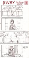 RWBY Storyboards 1 by RoxyRoo