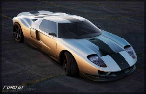 Ford GT Concept by thedesign05