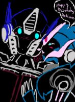 Arcee: Happy Birthday Prime by Shikutoki