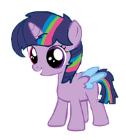 Custom Filly for - KittySnoodles by iPandacakes