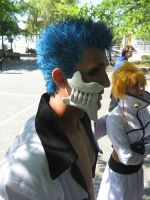 Grimmjow profile by KingGrimm6