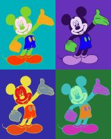 Mickey Mouse Popart by funnyturtle