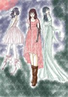 Kalafina Red Moon by yryahuln