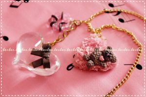 LOVE ME lolita necklace by Fraise-Bonbon