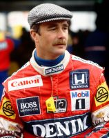 Nigel Mansell (Belgium 1987) by F1-history