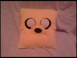 Jake the Dog Pillow by MandieDaFerocious