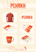 Pchakh.com Logo Design by Hamdan-Graphics